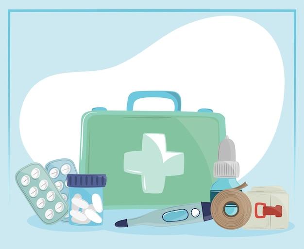 Kit di pronto soccorso medico