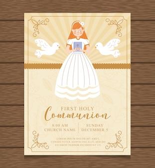 Primo invito alla santa comunione