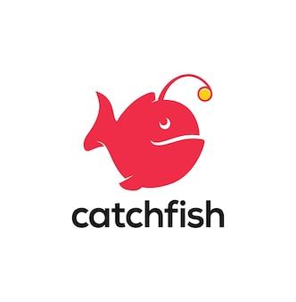 Ispirazione per il logo del pesce rana pescatrice megattera