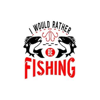 Citazioni di pesca svg disegno vettoriale