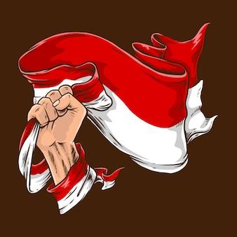 Bandiera di pugno