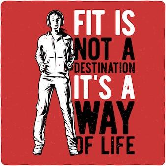 Ragazza fitness