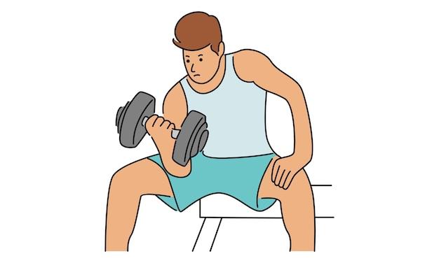 Palestra di allenamento fitness