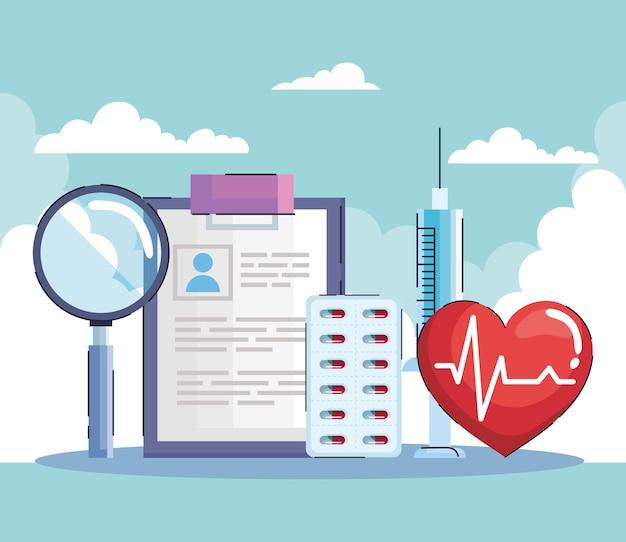 Cinque elementi della malattia di ipertensione