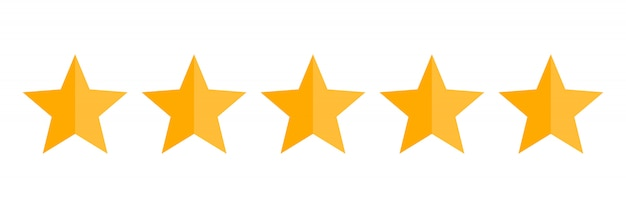 5 stelle segno | Icona Gratis