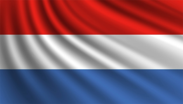 Bandiera del modello di sfondo del lussemburgo.