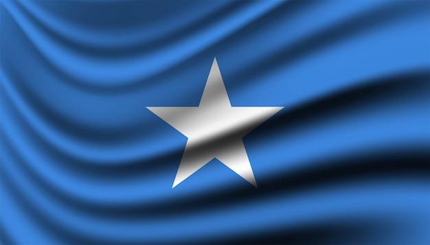 Bandiera della somalia modello di sfondo.