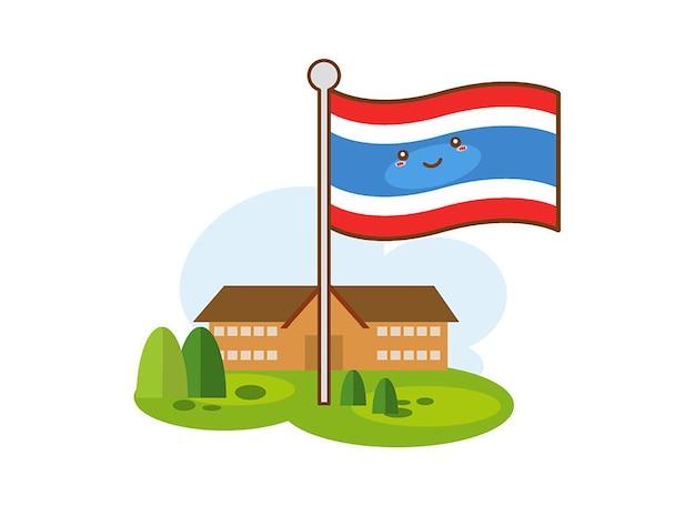 Bandiere dell'icona di thailandia