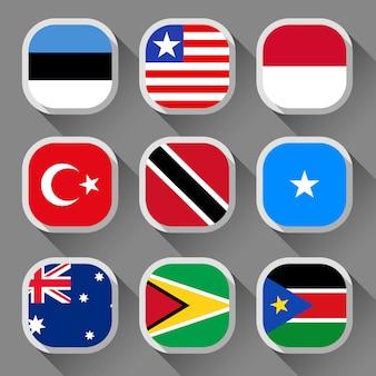 Bandiere del mondo