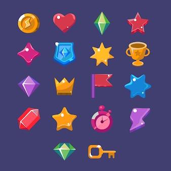 Set di risorse del gioco flash