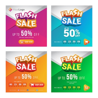 Banner vendita flash