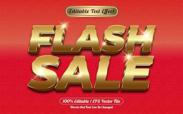 Stile modello effetto testo modificabile vendita flash