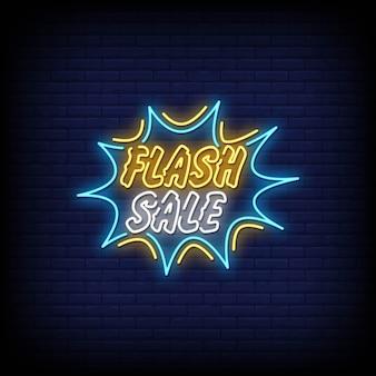 Flash sale neon singboard