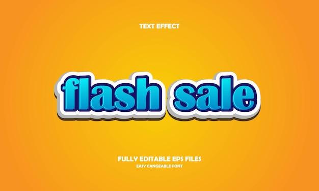 Effetto testo vendita flash