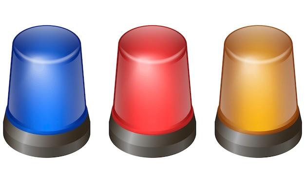 Set di luci lampeggianti