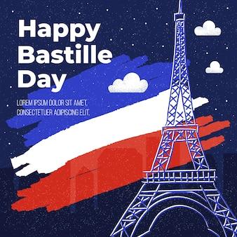 Design piatto bastille day