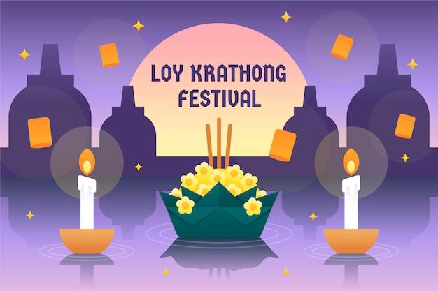 Design piatto loy krathong