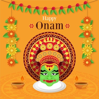 Design piatto onam