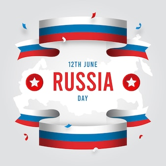 Design piatto russia giorno e nastri