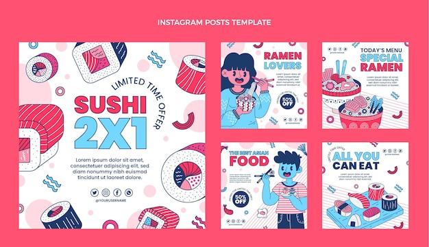Post instagram cibo piatto