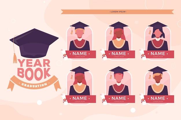 Illustrazione piana dell'annuario di laurea