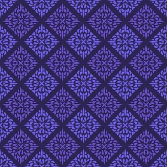 Modello senza cuciture mandala piatta elegante motivo tradizionale. geometrico di lusso batik classico.