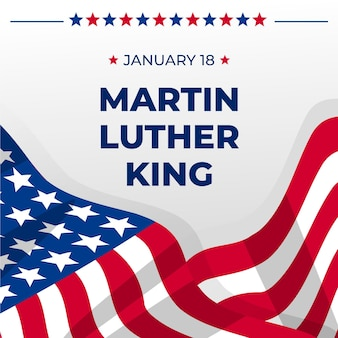 Flat martin luther king day