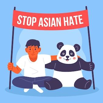 Smettila di odio asiatico
