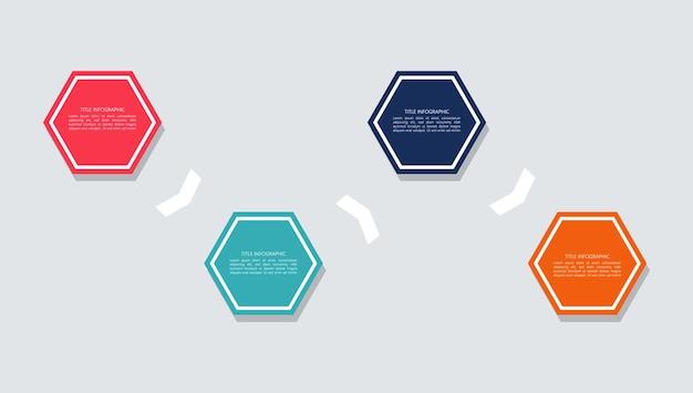Indice piatto infografica vettore gratuito