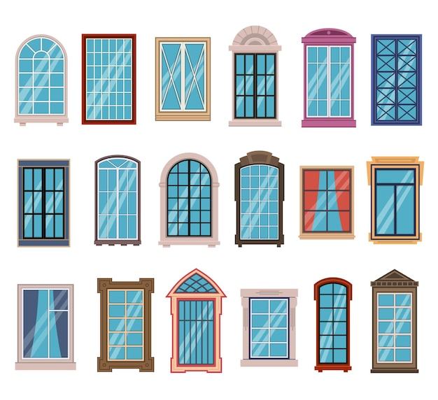 Cornici per finestre piatte