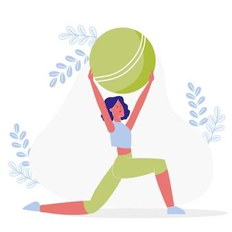 Esercizio di flessibilità, allenamento