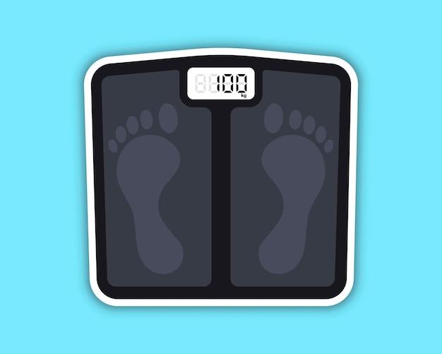 Bilance da pavimento bilance da pavimento per pesare il peso corporeo obesità dopo quarantena a lungo termine