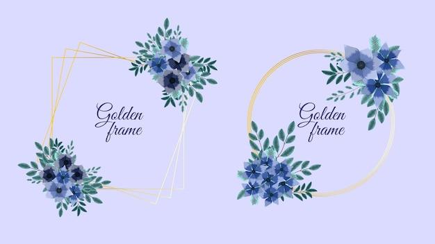 Invito di design di ornamenti floreali o biglietto di auguri per l'arredamento di nozze