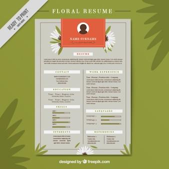 Curriculum floreale