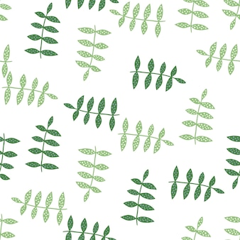 Motivo floreale senza soluzione di continuità su sfondo bianco. carta da parati della natura. trama di botanica. ornamento decorativo. design per tessuto, stampa tessile, avvolgimento, copertina. illustrazione vettoriale.