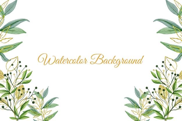 Priorità bassa floreale dell'acquerello Vettore Premium