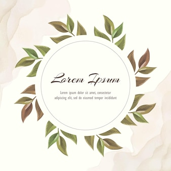 Modello di invito matrimonio floreale