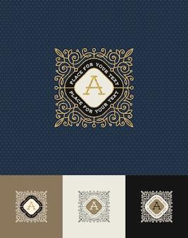 - fiorisce il logo monogramma oro glitterato.