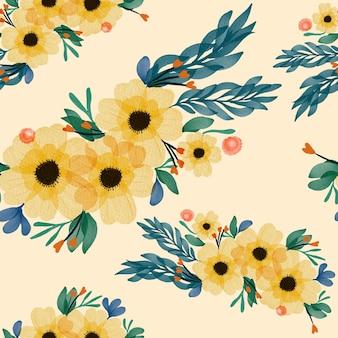 Fiori seamless pattern