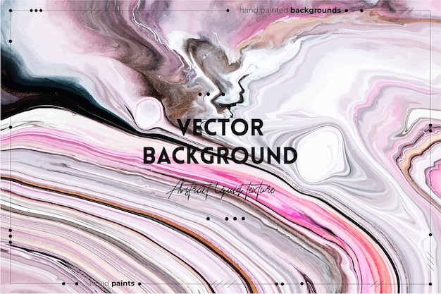 Sfondo texture arte fluida con miscelazione astratta effetto vernice acrilica liquida immagine con vernici miste alla moda può essere utilizzato per lo sfondo del sito web rosa bianco e grigio traboccante di colori