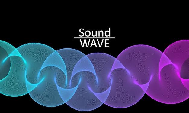 Flusso del fluido. forma astratta di flusso 3d. onda fluida.