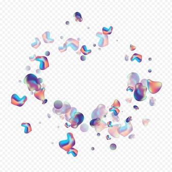 Bolla futuristica liquida moderna minima fluida su sfondo trasparente