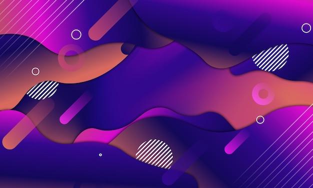Sfondo di forma fluida. sfondo astratto. illustrazione vettoriale.