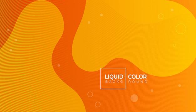 Composizione di forme fluide per brochure web