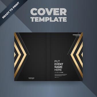 Flyer brochure design modello di copertina