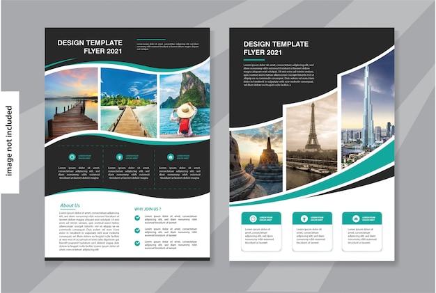 Modello di business flyer