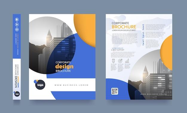 Modello di progettazione flyer