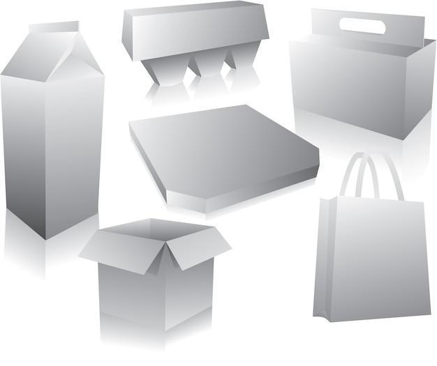 Disposizione della scatola di cibo