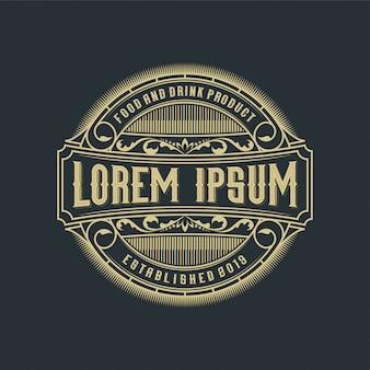 Logo design di cibi e bevande per prodotti e ristoranti
