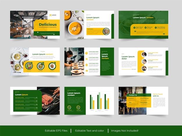 Modello di presentazione del cibo
